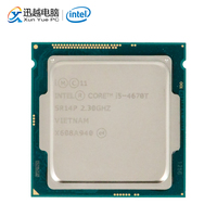 Intel Core i5 4670T Desktop Processor i5 4670T Quad Core 2.3GHz 6MB L3 Cache LGA 1150 Server Used CPU