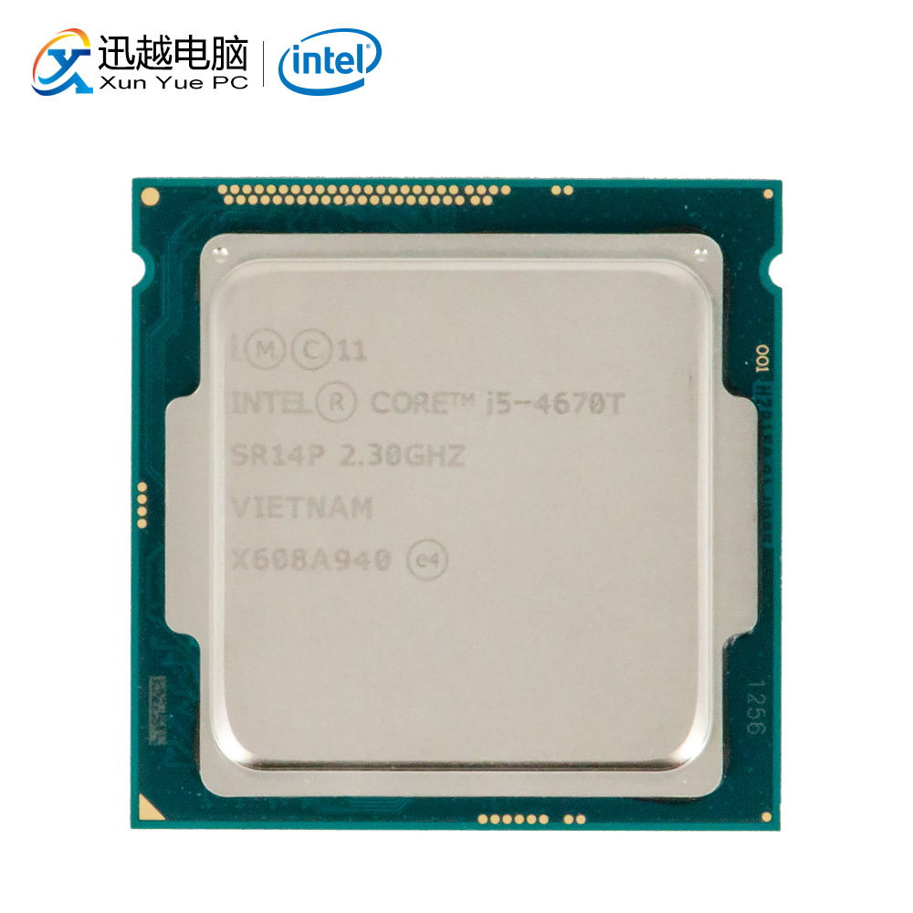 Intel Core i5-4670T Desktop Prozessor i5 4670 T Quad-Core 2,3 GHz 6 MB L3 Cache LGA 1150 Server verwendet CPU