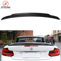 F22 Rear Trunk Spoiler E Style For BMW F87 M2 Carbon Fiber spoiler wing 218I 220I 228I M235I 2014 2015 2016 2017 2018 2019