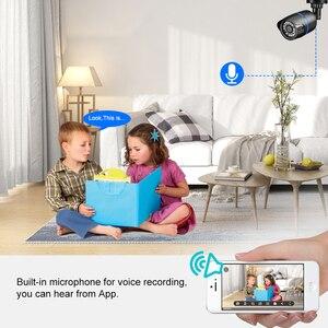 Image 5 - Gadinan 5MP 2592X1944P 3MP 2MP enregistrement Audio POE IP caméra extérieure CCTV Surveillance balle caméra IR Leds P2P ONVIF 48V POE