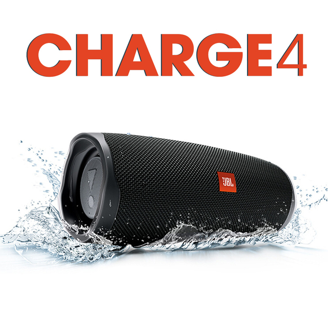 Charge4 Wireless Bluetooth Speaker Charge 4 IPX7 Waterproof Music Hifi Sound Deep Partybox Speakers CLIP 3 Pulse FLIP 5 Boombox