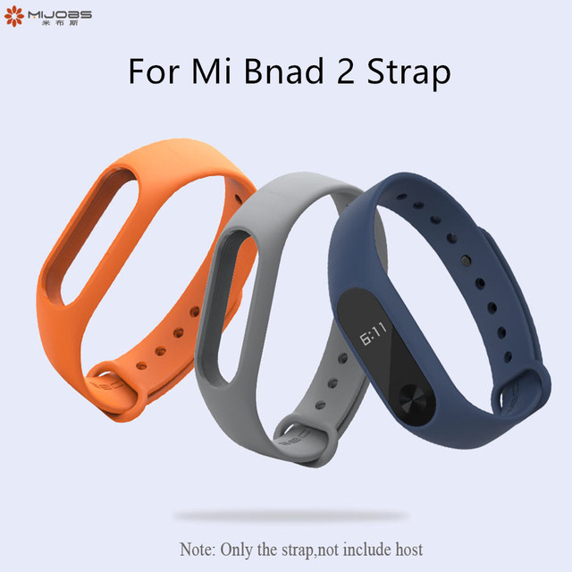 For mi band 2 Strap Bracelet Accessories Pulseira Miband Replacement Silicone Wriststrap Smart Wrist for Xiaomi Mi Band 2 Strap 1