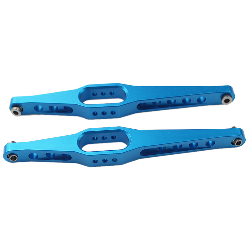 2Pcs 95Mm Hole To Hole Link <font><b>Metal</b></font> Rear Suspension Arms Linkage For Fy01 Fy02 Fy03 <font><b>Wltoys</b></font> <font><b>12428</b></font> 12423 1:12 Rc Car Upgrade Parts H image