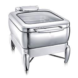 1/2 kwadratowe szklane pokrywy 4L (dla kuchenka indukcyjna) posiłek piec restauracja hotelowa restauracja zupa sos zachowania pieca ze w Roboty kuchenne od AGD na