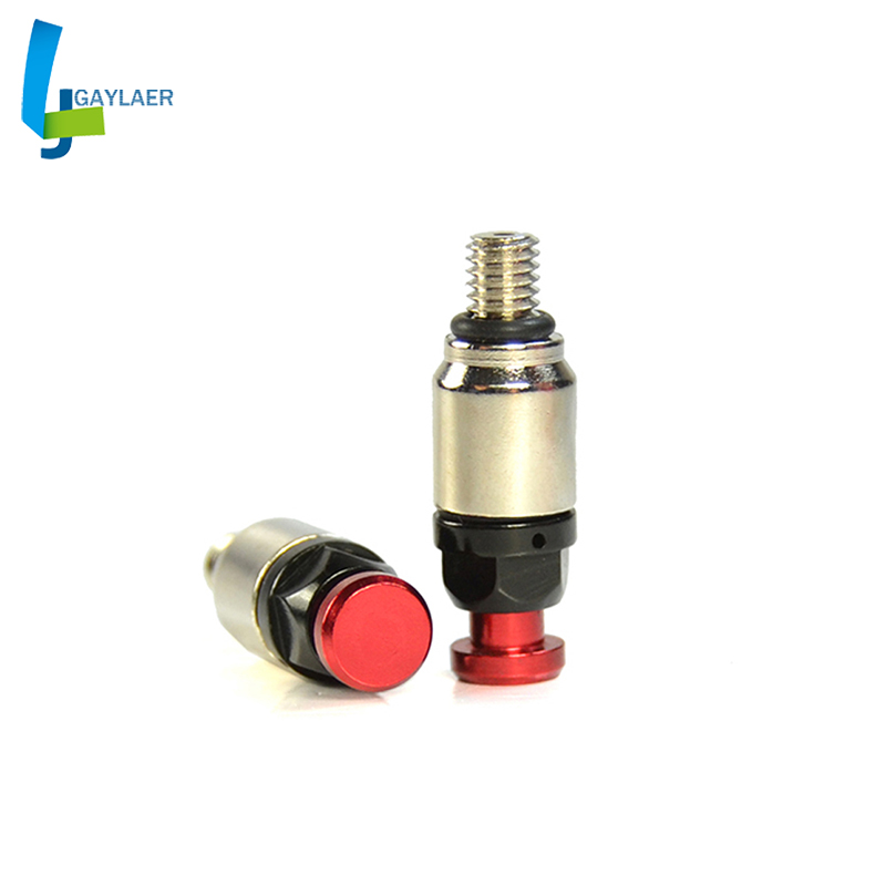 M5x0.8mm Motorcycle CNC Fork Bleeder Relief Valve For Honda CR125 CRF150 CR250 CRF250 CRF450 Supermoto Dirt Bike MX