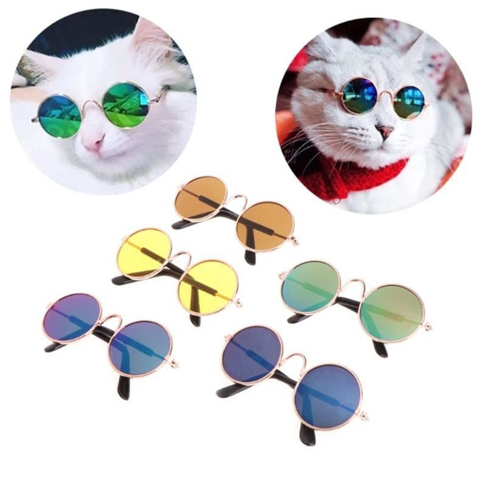 Lovely Glasses Cat font b Pet b font Products Eye wear Sunglasses For Small Dog Cat