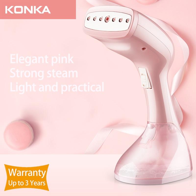 KONKA Handheld Steamer 1500W Powerful Garment Steamer Portable 15 Seconds Fast-Heat Steam Iron Ironing Machine for Home Travel 1