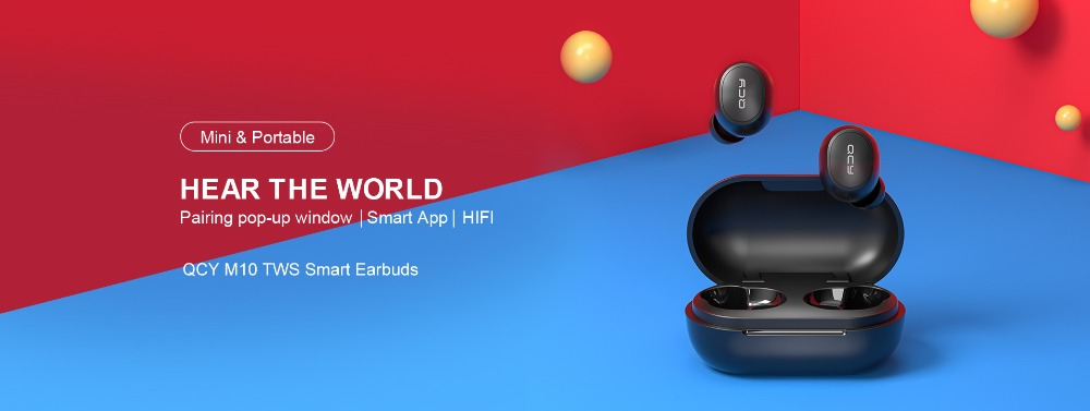 QCY M10 TWS Bluetooth V5.0 Wireless Earphones 4