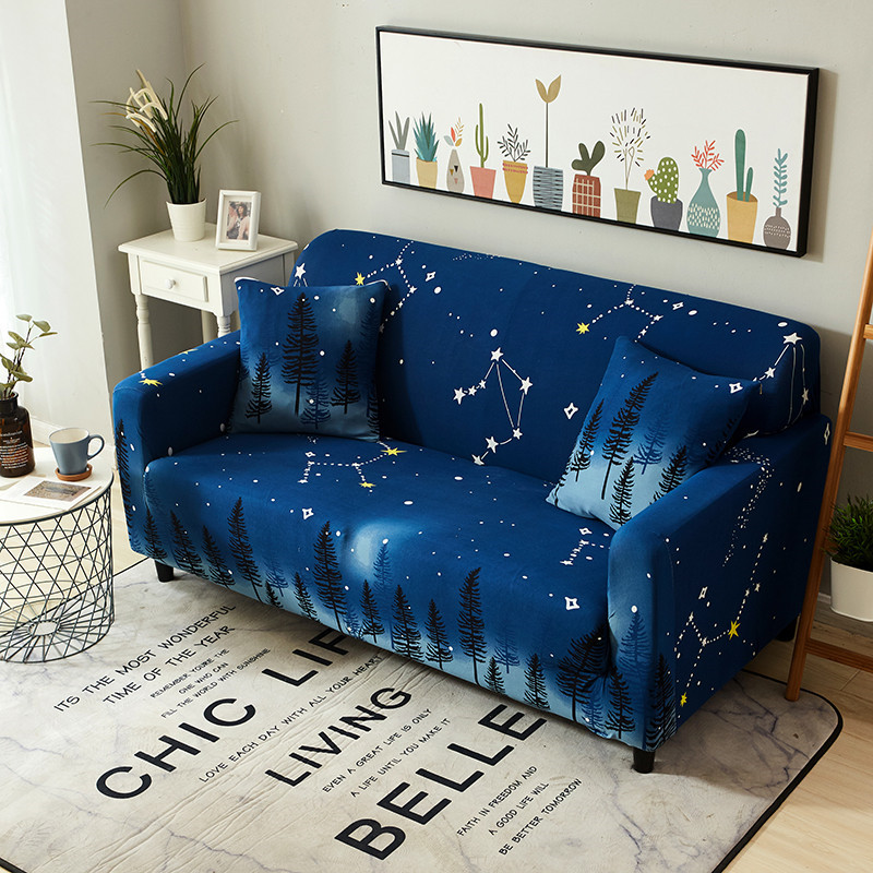 HOUSEMIFE Stretchable L Shaped Couch Cover for Living Room Single to 4 Seated Sectional and Corner Sofa 2