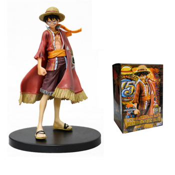 18cm Anime figurine One Piece Luffy Theatrical Edition Action Figure Juguetes Figures Collectible Model Toys for kids Christmas