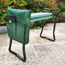 Garden-Tool Folding Pouches And Lightweight Eva-Foam-Pad Planting Protects-Your-Knees