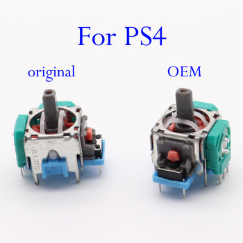 Original OEM 3D Potentiometer Joy Stick Analog Axis Joystick Module for Sony Playstation4 PS4 Gamepad for PS4 Slim Pro Contoller недорого