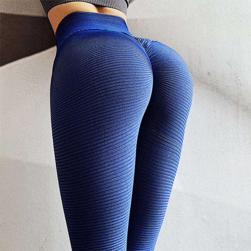 Hot Women Fitness Leggings Pants Sexy Solid Leggins Push Up Slim Good Coarse Gym Exercise High Waist Fit Slim Athletic Trousers