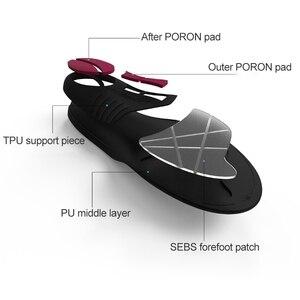 Image 3 - Original Xiaomi PU Slow Shock Running Sports Insole Shoe Pad