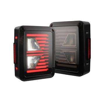 Hot Sale Taillights Delicate Design 2x LED Car Rear Lights DRL Brake Reverse Turn Signal Lamp for Jeep Wrangler JK 4