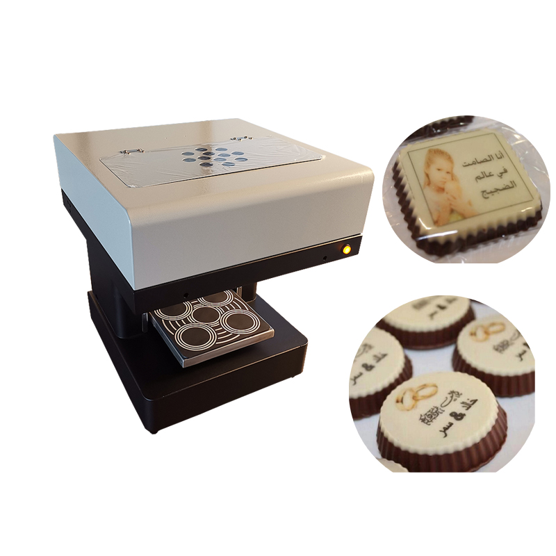 Chocolate Macaroon Printer Machine With  The Best-after Service