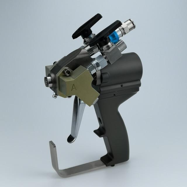 Pistolet P2, pistolet A5 do natryskiwania pianki poliuretanowej, można wybrać różne natężenia przepływu