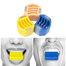 Boule de Gel de silice de qualité alimentaire, 1 pièce, pour l'entraînement musculaire, pour tonifier le visage et le cou