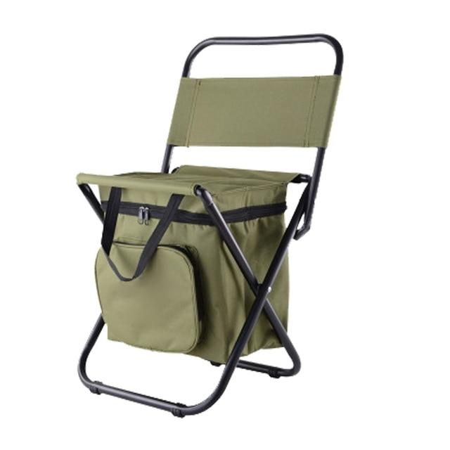 Çok fonksiyonlu açık katlanır tabure taşınabilir buz torbası taburesi yalıtım çantası balıkçı taburesi plaj sandalyesi hafif tabure