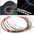 Разноцветные Струны для гитары, разноцветные, медный сплав/сталь, 4/5/6 шт.