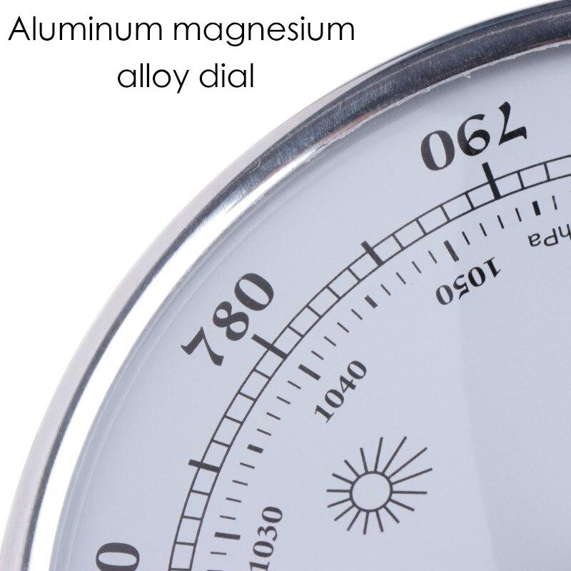 higrômetro alta precisão medidor de pressão ar tempo instrumento barômetro