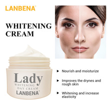 LANBENA Lady Face Cream Whitening Day Cream Moisturizing Acne Treatment Anti Wrinkle Anti Aging Facial Care Nourishing Skin Care lanbena whitening face cream moisturizing nourishing hydrolyzed pearl anti wrinkle anti aging repairing smoothing skin care 35g