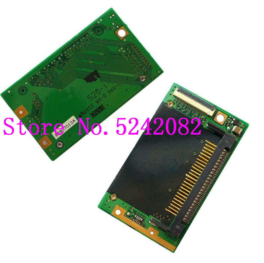 95% Board CF Flash Memory Card Slot Test Working Well For Nikon D70 D70S Replacement Part title=