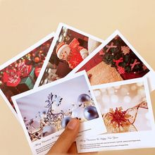 2019 New 5pcs Christmas Wish List Postcard /Greeting Card/Message Card/Birthday Letter Envelope Gift Card DIY Xmas Gift Card