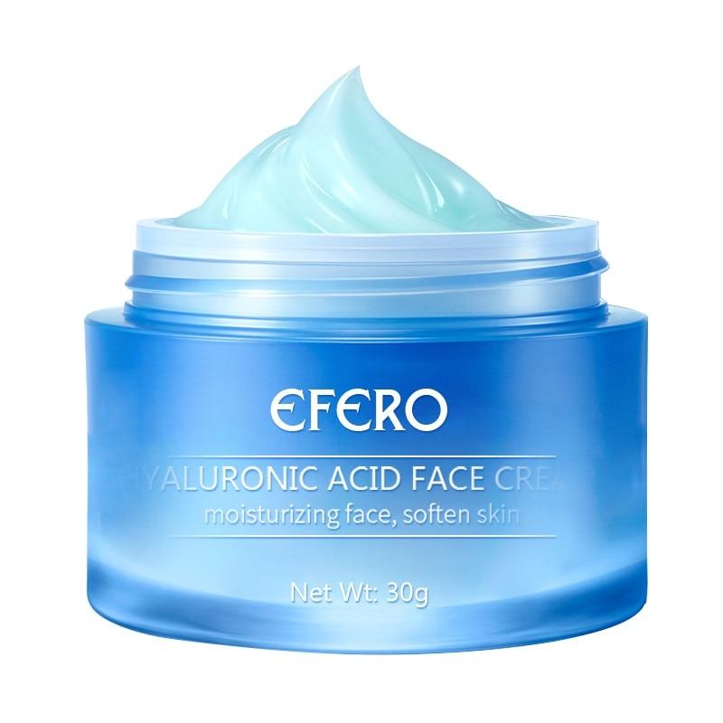 Anti-Oxidation Brighten Face Cream Shrink Pores Hyaluronic Acid Moisturizer Cream Anti Aging Eye Cream Dark Circles Eye Massager 16