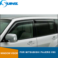 Car door visor For MITSUBISHI MONTERO PAJERO V93 Sun Shade Awnings Shelters Guards car accessories SUNZ