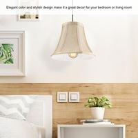 lampshade 6pcs Beige Mini Lamp Shades Chandelier Light Cover Set hanging light shades