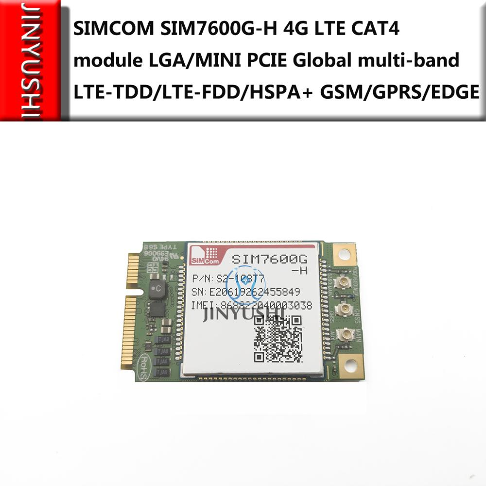 SIMCOM SIM7600G-H Mini Pcie  Not SIM7600G CAT4 Module Global Version For SIM7600E-H SIM7600SA-H SIM7600JC-H SIM7600A-H