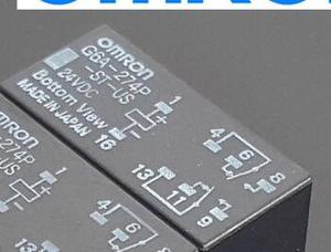 Image 2 - G6A 274P ST US 12VDC Original G6A 274P DC12VDC 100PCS/LOT FREE SHIPPING