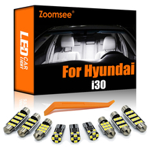 Zoomsee Interior LED For Hyundai i30 FD GD PD PDE PDEN 2007 To 2020 Canbus Vehicle Indoor Dome Map Reading Trunk Light Auto Kit