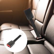 Araba emniyet kemeri klipsi emniyet kemeri genişletici 25cm emniyet emniyet kemeri otomatik İç modelleme emniyet kilidi için 21mm kilitleme sekmesi araba aksesuarı