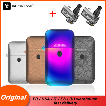 цена на Original Vaporesso Vape Click Electronic Cigarette Aurora Play Kit with Aurora Pods 650mAh Built-in Battery 2ml Capacity POD
