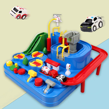 Cars for Children Racing Rail Car Model Toys for Kids 2 to 4 Years Old Racing Educational Toy for Boys Adventure Game Track Gift