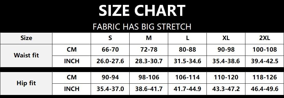Skirt Size Chart