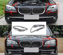 For 2009 2015 BMW 7 Series F01 F02 730 740 750 760 Lampshade Washer Headlight Seal Rubber Strip Sealing Ringl