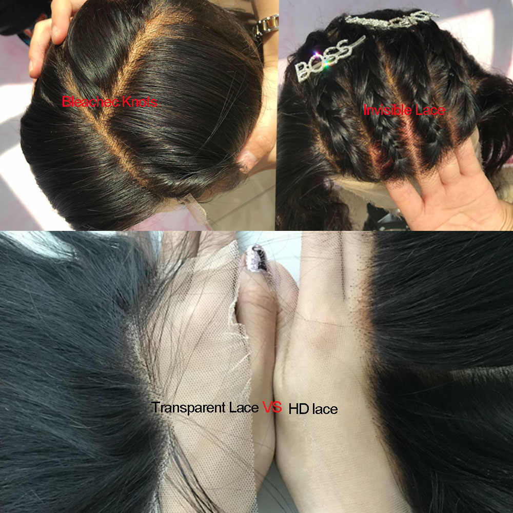 Body Wave Bundles with HD Lace Frontal Brazilian Hair Weave Bundles with Closure Virgin Human Hair Bundles with Frontal Closure