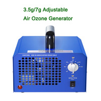 3.5G 7G Ozone Adjustable High Frequency Ozone Machine Room Air Purifier Pm2.5 Ionization Air Purifier Mephitis Absorption