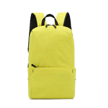 Bags For Women Small Backpack Lightweight Student School Bag Colorful Mini Backbag Fashion Solid Color Female Package