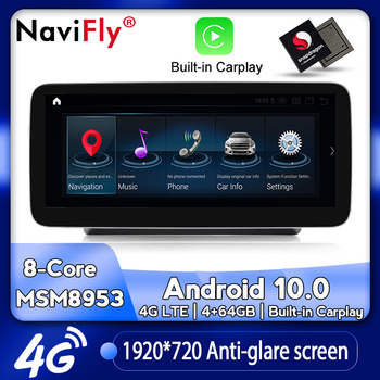 NaviFly Android Car dvd radio multimedia Player GPS Navigation for Mercedes Benz V Class 639 V250 d Exclusive BlueTEC AVANTGARDE image