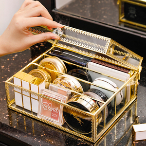 Dustproof Makeup Organizer Gla