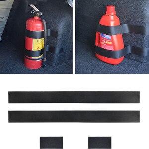 Car Trunk Nylon Fixing Belt Car-styling for fiat grande punto mazda 3 skoda kodiaq alfa romeo 147 golf mk7 bmw f30(China)