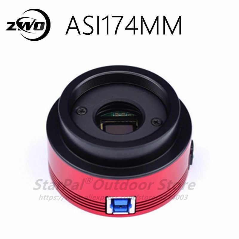 Монохромная астрономическая камера ZWO ASI174 мм ASI Планетарная Солнечная Лунная видеосъемка/Руководство по лунному изображению/высокоскоростная USB3.0 ASI174 мм ASI 174 мм ASI174
