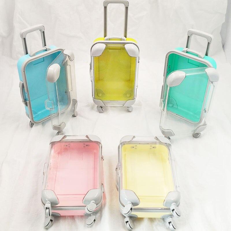 4 pçs elegante luxo cílios falsos mala