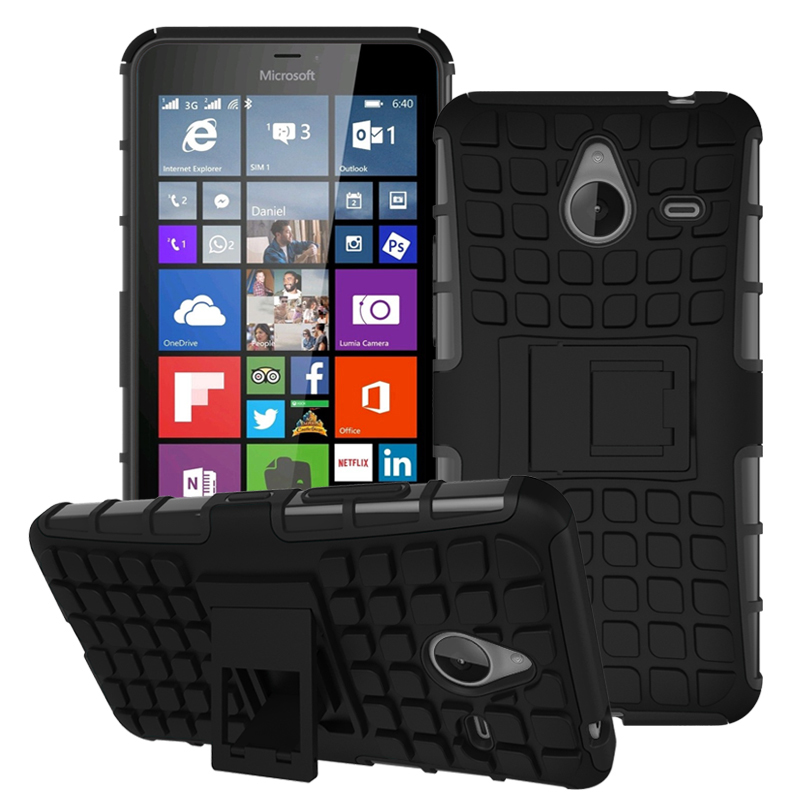 Case For Microsoft <font><b>Nokia</b></font> Lumia 650 <font><b>950</b></font> <font><b>XL</b></font> 850 540 Case Hybrid TPU+PC Hard Armor Shockproof Stand Function Cover Cases image
