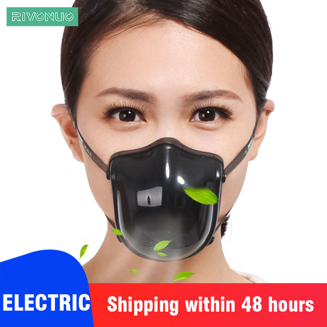 Shenzhen Manufacturer Electric Female And Male Anti-Pollution Safety Active Carbon Anti Smog KN95 N95 Face Mask