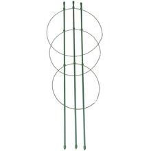 Vine-Rack Flower Trellis Plastic-Coated Balcony-Plant Garden Climbing Creative 1-Pc 60cm